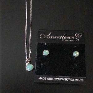 Annaleece by Devries earring & necklace set